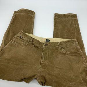 Kuhl Vintage Patinadye Pants. Sz. 40x32